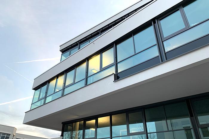 Ansicht Bürogebäude der engelhardt softwareentwicklung GmbH